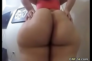 Hot BBW shaking say no to fat ass primarily webcam