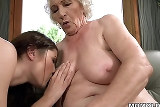Elderly woman Norma and her younger lesbian friend Linda Love