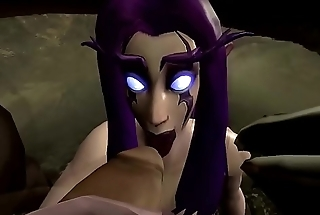 night elf pleasure