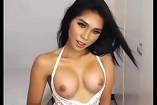 Sweet Uncut Asian Ladyboy