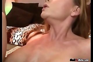 Wild Cougar Janet Mason Gets Her Holes Pummeled