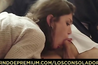 LOS CONSOLADORES - Lonely Spanish chick Julia Roca gets consoled in cuckolding threesome