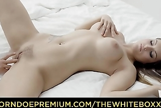 THE WHITE BOXXX - Sensual Barbara Bieber explores sex toy fantasy