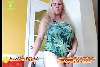 Chaturbate webcam show recorded July 24th Weed Swimwear