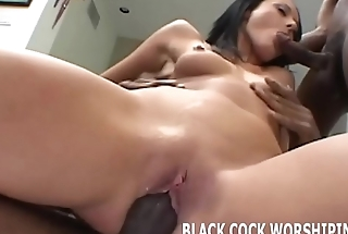 Watch me taking on two big black cocks