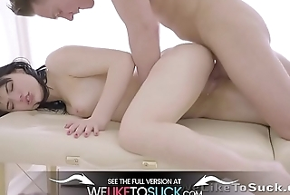 Weliketosuck - Cum in mouth action be advisable for Russian babe during hot massage