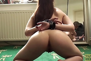 Young subslut Luna Rival ass fucked roughly in the lead creampie