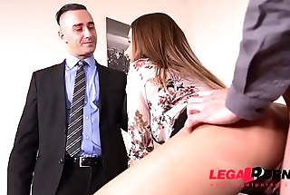 Big Booty Supreme estate agent Taylor Sands gets DP'_ed Hard for the Sale GP074