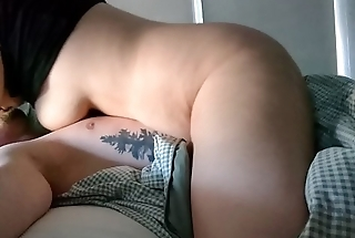 chubby milf has orgasm riding cowgirl homemade