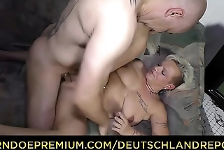 DEUTSCHLAND REPORT - Dirty amateur German granny Judith S. gets picked up with an increment of fucked