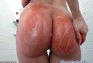 Bigbooty milf pounded check into showering