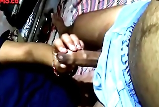 My real Desi sister handjob to me