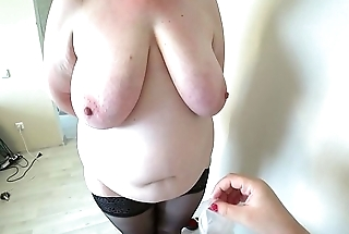 Milf came to transmitted to reception to transmitted to nurse and got an orgasm from fisting, a bbw doggystyle shakes beautiful booty, lesbians POV.