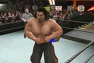 lauren vs the great khali clip