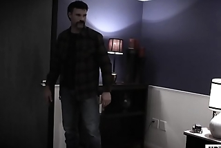 Hooker and agents in a B & B room