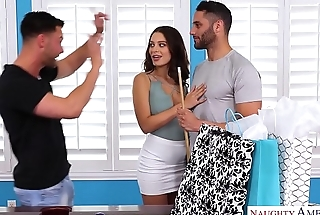 LANA RHOADES Trio - CHEATS &amp_ FUCKS 2 GUYS