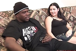 Teen Bride to be gets first big black cock