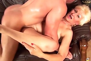 busty mama fisted by her toy boy