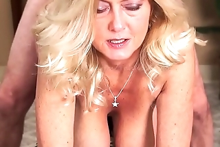 MILF Gives Smoking Blow Job Before Procurement Fucked Ending w Facial-Smokes w/Cum atop Face
