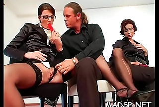 Kinky scenes with gorgeous sweethearts fucking relative to a group