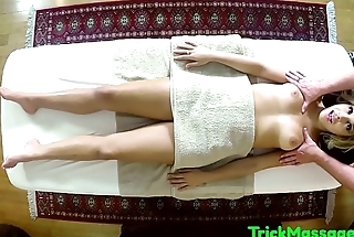 Glamcore babe fucked in massage parlor