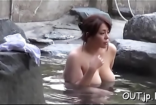 Hot outdoors sex adventure as fortunate boy gets pleased